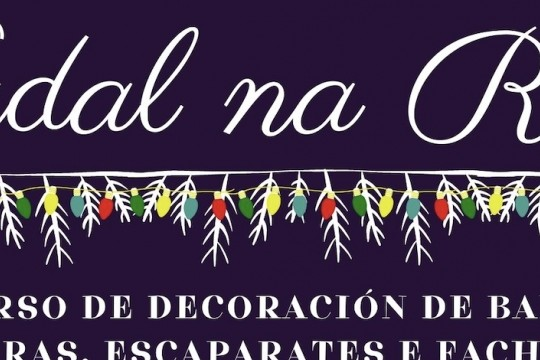 O Concello de Padrón arrinca a campaña de Nadal cun concurso de decoración de balcóns, fiestras, escaparates e fachadas