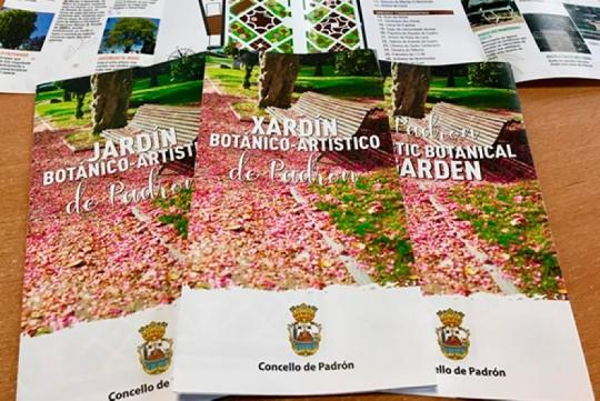 O Concello de Padrón pon en valor o Xardín Botánico Artístico a través da creación material de difusión e promoción