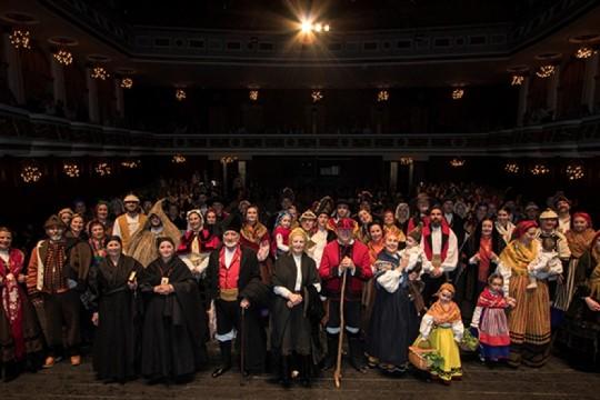 Padrón desfrutará esta fin de semana dunha pasarela que pon en valor o traxe tradicional galego en relación co Camiño de Santiago