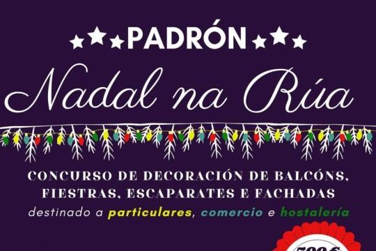 Máis de 60 proxectos de decoración particulares e de negocios de Padrón optan ao premio do concurso 'Nadal na Rúa'