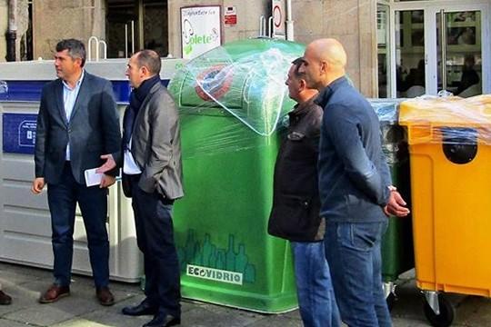 A USC colabora co Concello na actualización do padrón fiscal da taxa de recollida do lixo