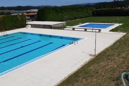 A piscina municipal da Escravitude en Padrón inaugura a tempada de verán o mércores 1 de xullo