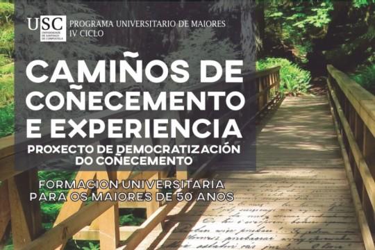 O Concello de Padrón e a Universidade de Santiago ofrecen seis charlas formativas gratuítas para maiores de 50 anos