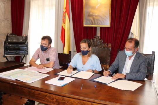 A Xunta sela con Padrón o acordo para investir 3 millóns de euros na redución do risco de inundación nos ríos Ulla e Sar