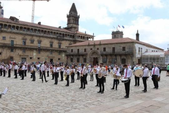 O Concello de Padrón apoia a volta da Banda Municipal de Música á normalidade e promove sete concertos nas aldeas do municipio