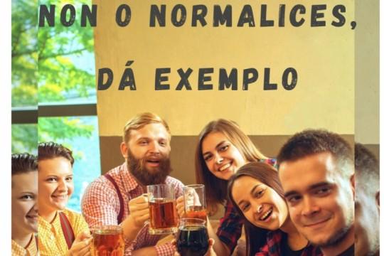 A unidade de Prevención de Condutas Aditivas comeza unha campaña de sensibilización contra o alcohol co apoio do Concello de Padrón