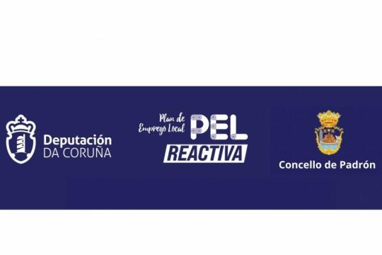 O Concello de Padrón facilita o cartel publicitario do programa de axudas Pel-Reactiva
