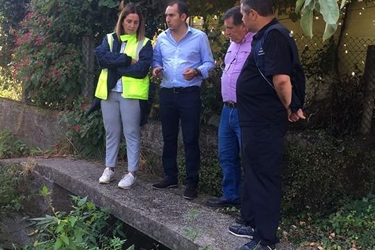 A reparación do dique da canle do río Sar curtará tres semanas un treito da travesía de Iria