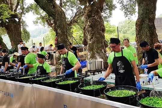 Herbón preparará mañá máis de 1.000 kilos dos famosos pementos na súa 41ª festa